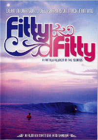 サーフィンdvd FITTY FITTY